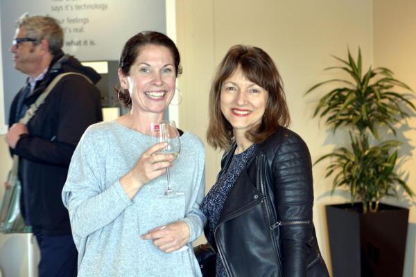 Megan Rees (GLBA) & ex-TV Presenter Louise Pagonis (Media Coaching)